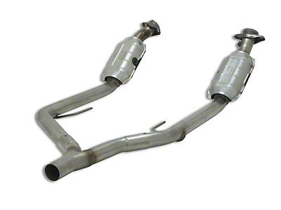 Flowmaster Direct Fit Catted Y-Pipe - 49 State Legal (05-09 V6)