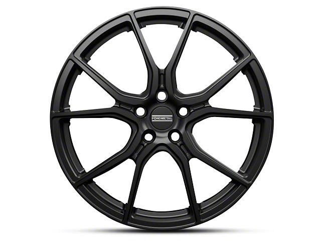 Fondmetal 191GB Gloss Black Wheel - 20x10.5 (15-18 GT, EcoBoost, V6)