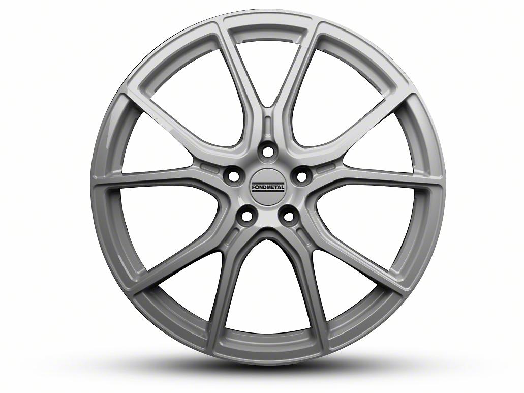 Fondmetal 191S Gloss Silver Wheel - 20x10.5 (15-18 GT, EcoBoost, V6)