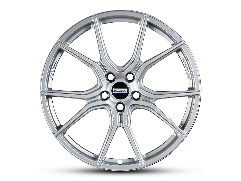 Fondmetal 191S Gloss Silver Wheel - 20x9 (05-14 All)