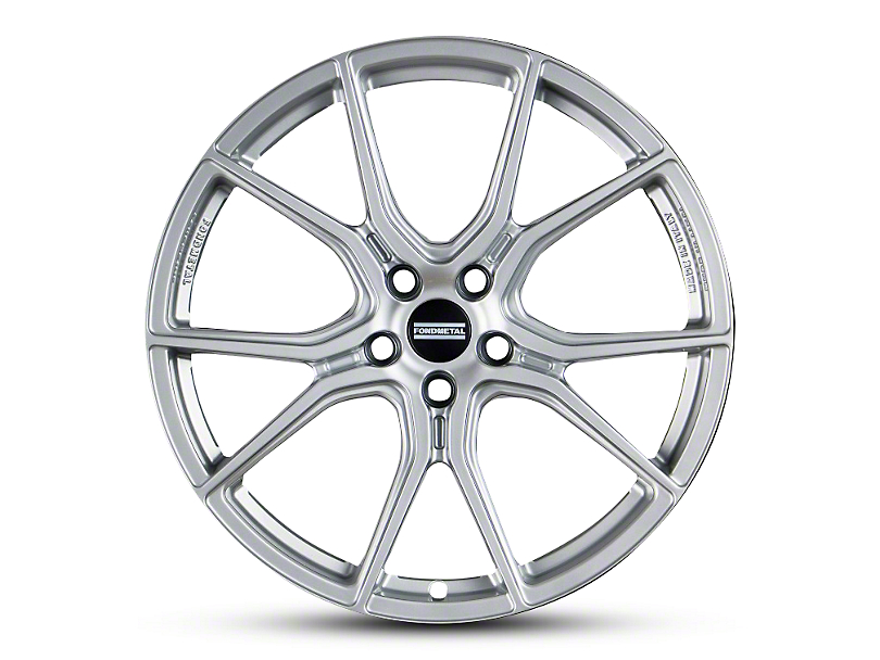 Fondmetal 191S Gloss Silver Wheel - 20x9 (15-18 All)