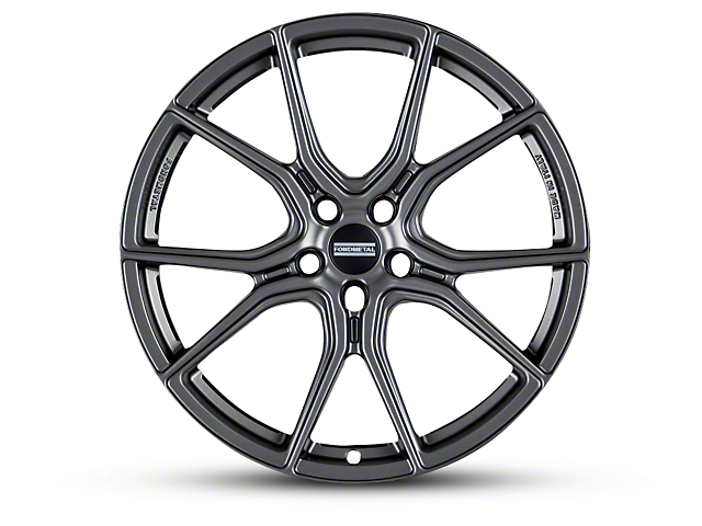 Fondmetal 191GT Gloss Titanium Wheel; 20x9 (10-14 All)