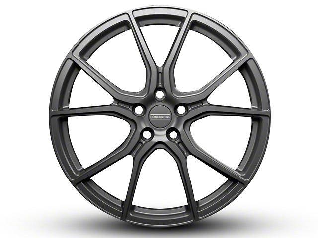 Fondmetal 191GT Gloss Titanium Wheel - 20x10.5 (15-18 All)
