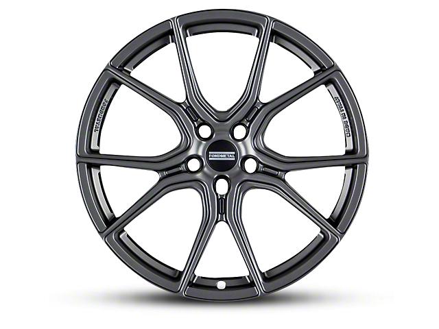 Fondmetal 191GT Gloss Titanium Wheel; 20x9 (15-20 GT, EcoBoost, V6)