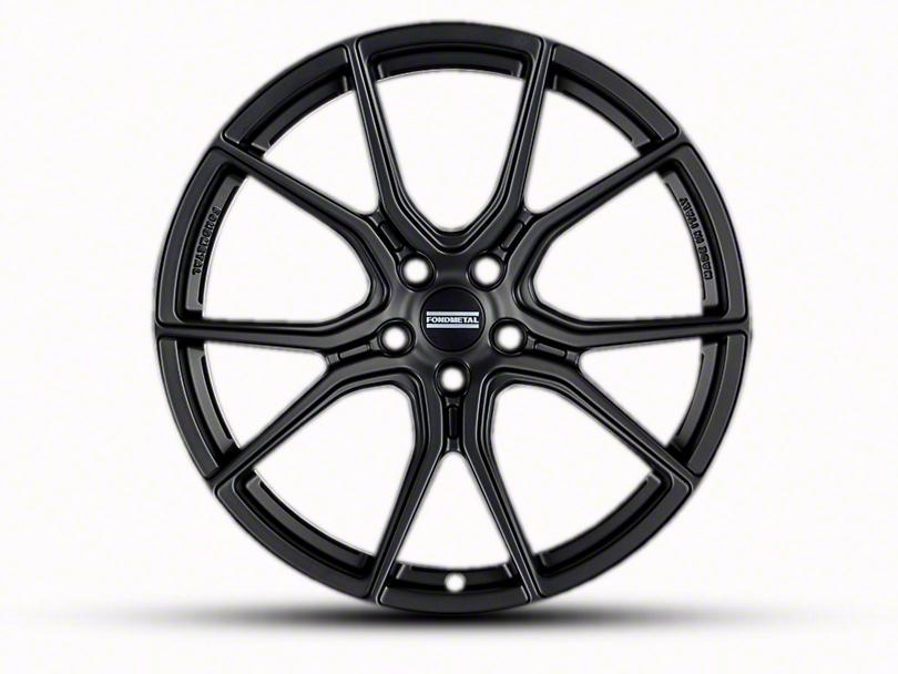 Fondmetal 191MB Matte Black Wheel - 20x10.5 (15-19 All)
