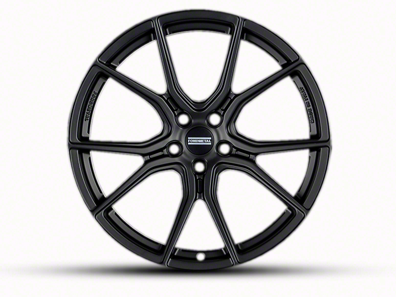 Fondmetal 191MB Matte Black Wheel - 20x9 (05-14 All)
