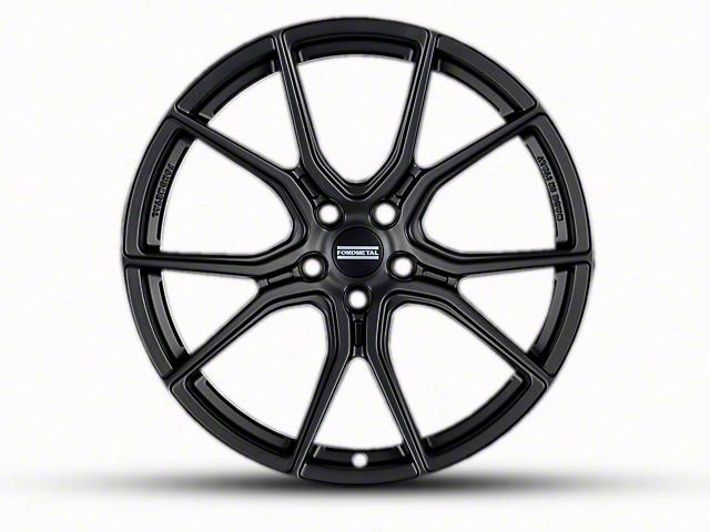 Fondmetal 191MB Matte Black Wheel - 20x9 (15-18 All)