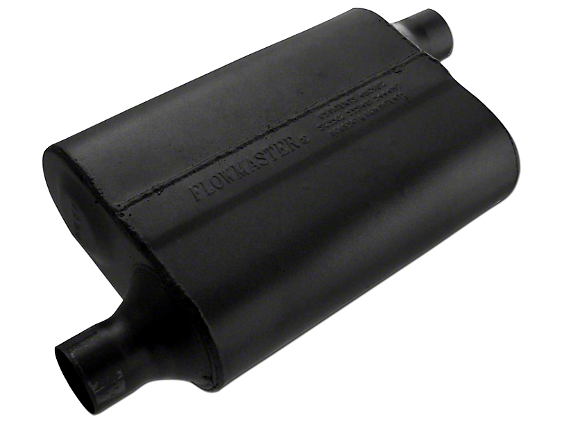 Flowmaster 40 Series Delta Flow Offset/Offset Oval Muffler - 2.0 in. (Universal Fitment)