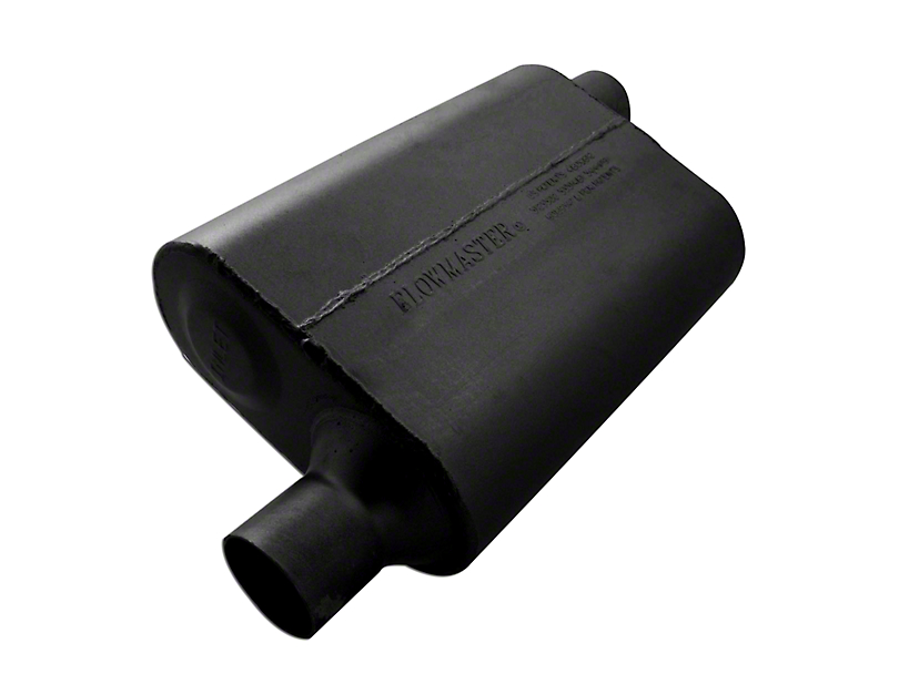 Flowmaster 40 Series Delta Flow Offset/Offset Oval Muffler - 2.25 in. (79-04 All, Excluding 99-04 Cobra)