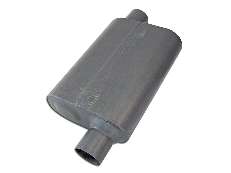 Flowmaster 40 Series Delta Flow Offset/Offset Oval Muffler - 2.5 in. (79-04 All, Excluding 99-04 Cobra)