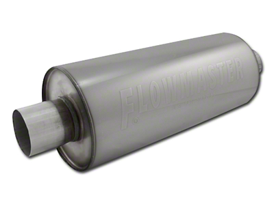 Flowmaster DBX Series Center/Center Bullet Style Muffer - 2.5 in. (79-04 All, Excluding 99-04 Cobra)