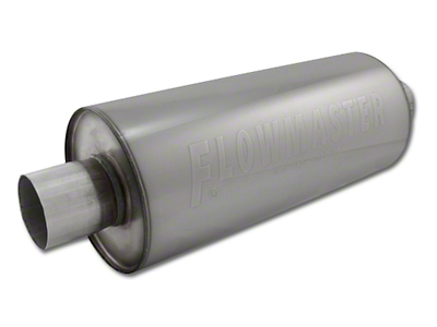 Flowmaster DBX Series Center/Center Bullet Style Muffler - 3.0 in. (79-04 All)