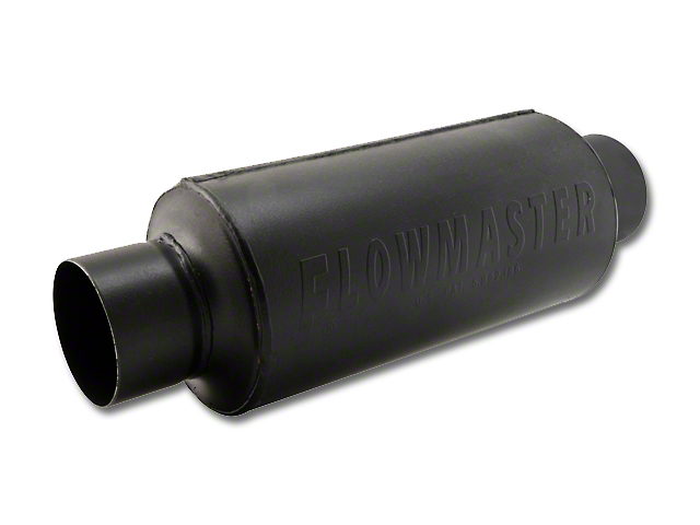 Flowmaster Pro Series Shorty Center/Center Bullet Style Muffler - 3.0 in. (79-04 All)