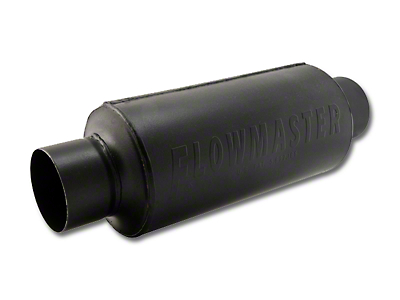 Flowmaster Pro Series Shorty Center/Center Bullet Style Muffler - 3.0 in. (Universal Fitment)