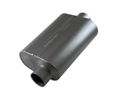 Flowmaster Super 40 Series Offset/Center Oval Muffler - 3.0 in. (Universal Fitment)