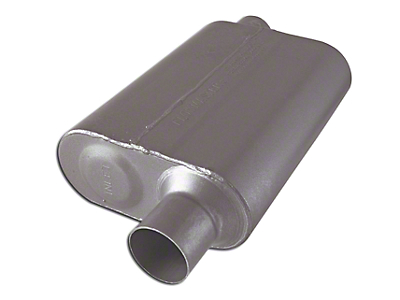 Flowmaster Super 44 Series Offset/Offset Oval Muffler - 2.5 in. (79-04 All, Excluding 99-04 Cobra)
