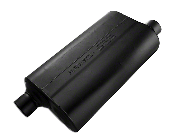 Flowmaster Super 50 Series Offset/Offset Oval Muffler - 2.5 in. (79-04 All, Excluding 99-04 Cobra)