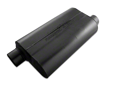 Flowmaster Super 50 Series Offset/Offset Oval Muffler - 3.0 in. (79-04 All, Excluding 99-04 Cobra)