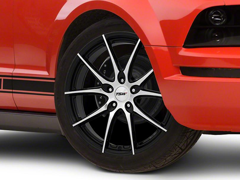 TSW Spring Gloss Black w/ Mirror Cut Face Wheel - 20x8.5 (05-14 Standard GT, V6)