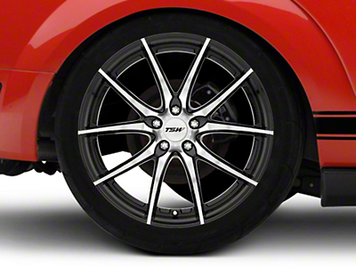 TSW Spring Gloss Black w/ Mirror Cut Face Wheel - 20x10 (05-14 Standard GT, V6)