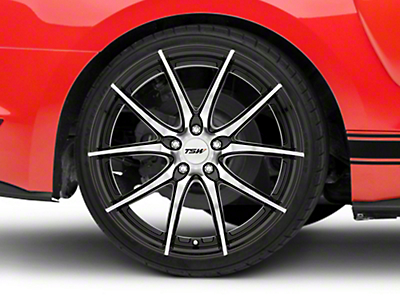 TSW Spring Gloss Black w/ Mirror Cut Face Wheel - 20x10 (15-18 EcoBoost, V6)