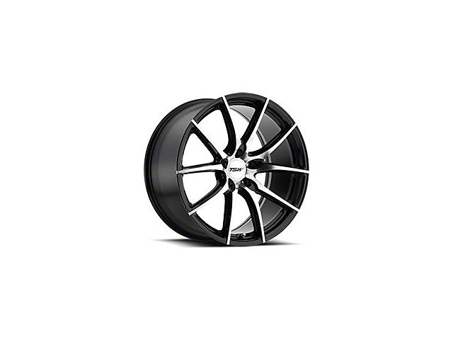 TSW Spring Gloss Black w/ Mirror Cut Face Wheel - 19x8.5 (15-19 EcoBoost, V6)