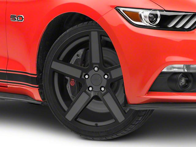 TSW Ascent Matte Gunmetal w/ Gloss Black Face Wheel - 20x8.5 (15-17 GT, EcoBoost, V6)
