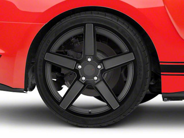 TSW Ascent Matte Gunmetal w/ Gloss Black Face Wheel - 20x10 (15-18 EcoBoost, V6)