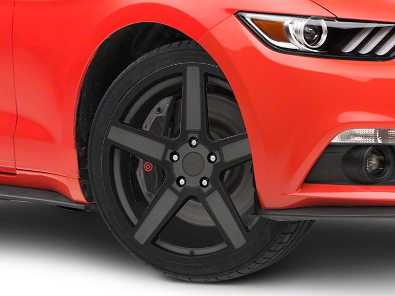 TSW Ascent Matte Gunmetal w/ Gloss Black Face Wheel - 19x8.5 (15-19 EcoBoost, V6)