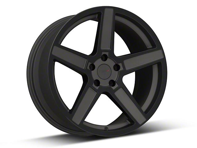 TSW Ascent Matte Gunmetal w/ Gloss Black Face Wheel - 19x9.5 (05-14 Standard GT, V6)