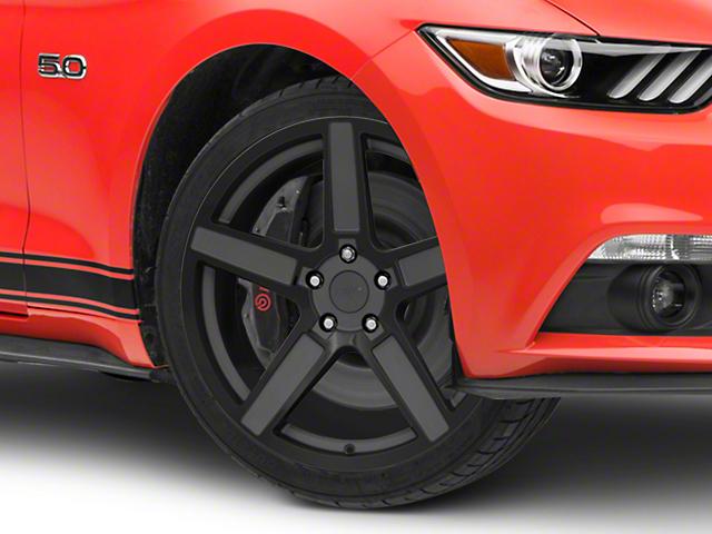 TSW Ascent Matte Gunmetal w/ Gloss Black Face Wheel - 19x9.5 (15-18 EcoBoost, V6)