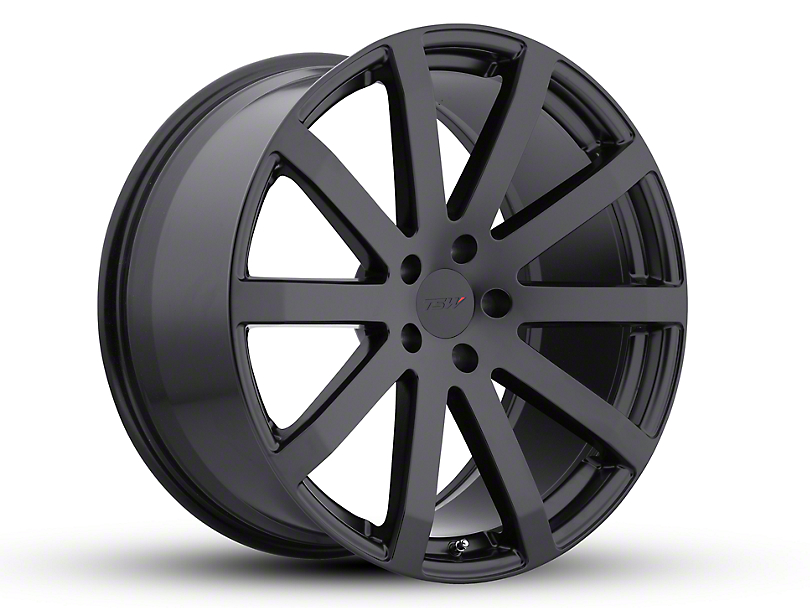 TSW Brooklands Matte Black Wheel - 20x10 (15-18 All)