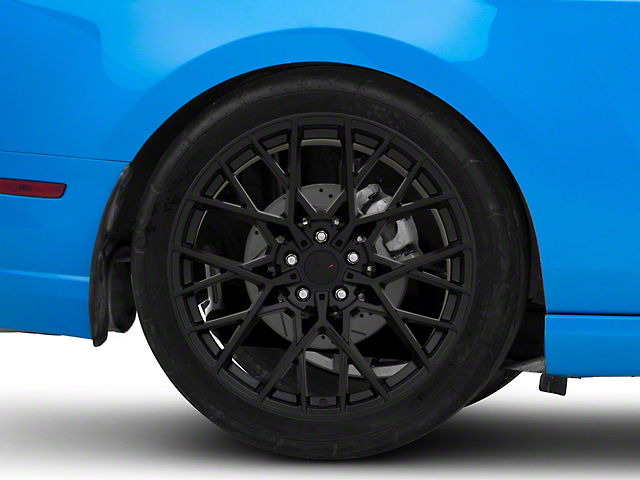 TSW Sebring Matte Black Wheel; Rear Only; 20x10 (10-14 Standard GT, V6)
