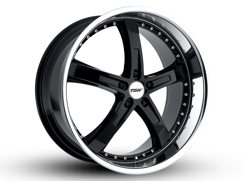 TSW Jarama Gloss Black w/ Mirror Cut Lip Wheel - 20x8.5 (15-18 EcoBoost, V6)