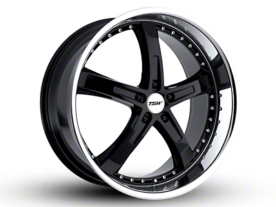TSW Jarama Gloss Black w/ Mirror Cut Lip Wheel - 20x8.5 (15-18 EcoBoost, V6)
