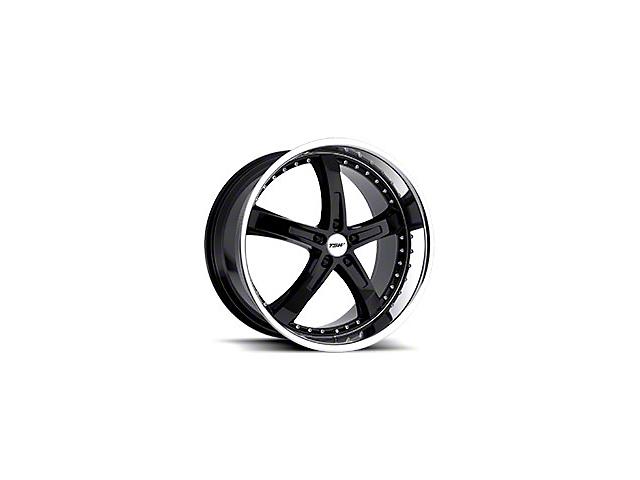 TSW Jarama Gloss Black Wheel; 19x8 (05-09 GT, V6)