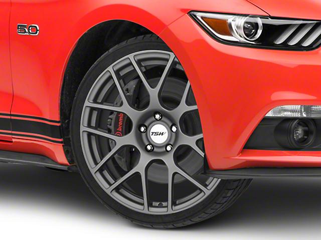 TSW Nurburgring Matte Gunmetal Wheel - 20x8.5 (15-18 All)