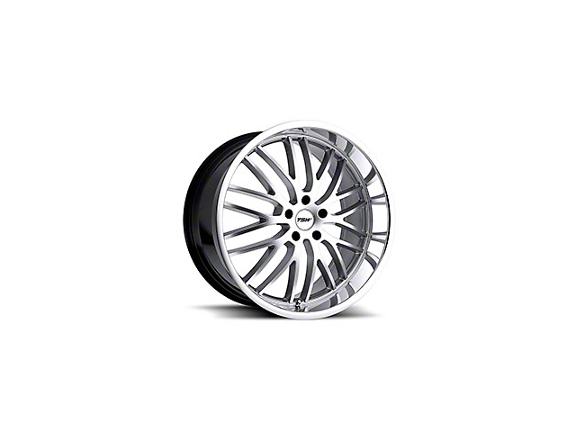 TSW Snetterton Hyper Silver w/ Mirror Cut Lip Wheel - 20x8.5 (05-14 All)