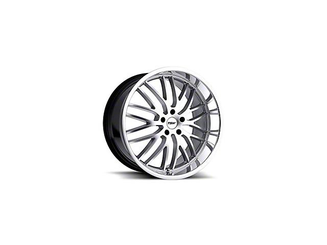 TSW Snetterton Hyper Silver w/ Mirror Cut Lip Wheel - 20x8.5 (15-18 EcoBoost, V6)