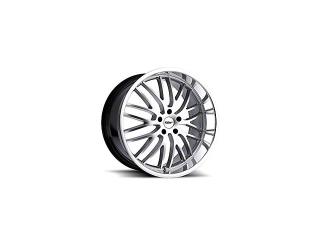 TSW Snetterton Hyper Silver w/ Mirror Cut Lip Wheel - 20x10 (15-18 EcoBoost, V6)