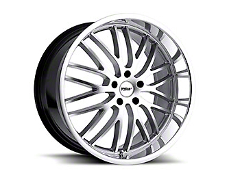TSW Snetterton Hyper Silver w/ Mirror Cut Lip Wheel - 20x10 (15-19 EcoBoost, V6)