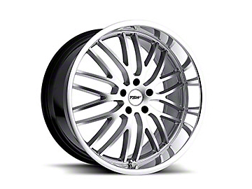 TSW Snetterton Hyper Silver w/ Mirror Cut Lip Wheel - 19x8 (05-14 All)
