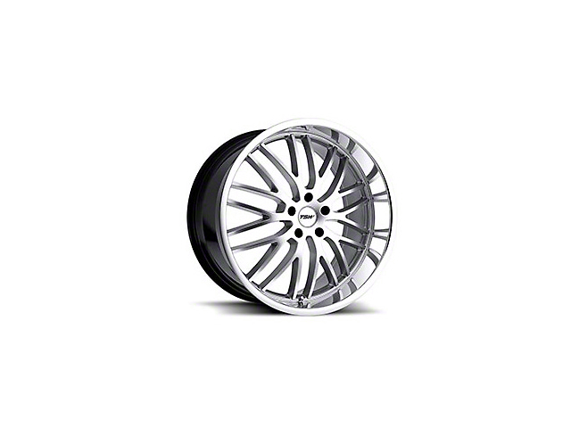 TSW Snetterton Hyper Silver w/ Mirror Cut Lip Wheel - 19x9.5 (05-14 All)