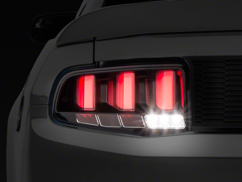 Raxiom Mustang Vector Tail Lights White Diffusers 399163