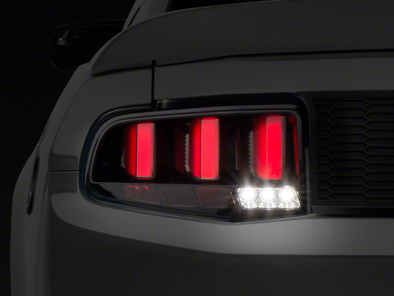 Raxiom Vector Smoked Tail Lights - White Diffusers (10-12 All)