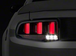 Raxiom Vector Smoked Tail Lights; White Diffusers (10-12 All)