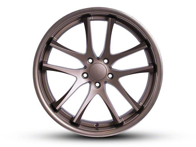 Rovos Staggered Cape Town Satin Bronze Wheel & Nitto INVO Tire Kit - 18x9/10.5 (94-04 All)