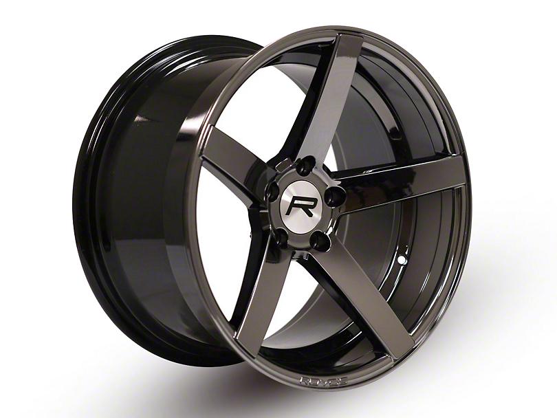 Rovos Staggered Durban Black Chrome Wheel & Nitto INVO Tire Kit - 18x9/10.5 (94-04 All)