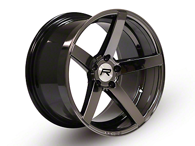 Rovos Staggered Durban Black Chrome Wheel & Nitto INVO Tire Kit - 18x9/10.5 (94-04 All)