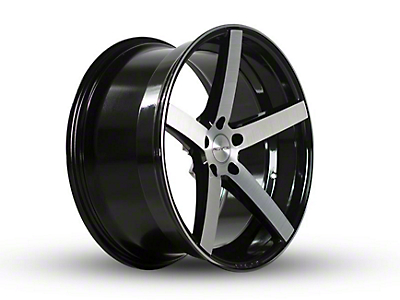 Rovos Staggered Durban Gloss Black Wheel & Nitto INVO Tire Kit - 18x9/10.5 (94-04 All)